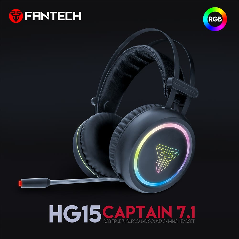 Fantech Hg15 Wired Captain 7 1 Rgb Jdm Techno Computer
